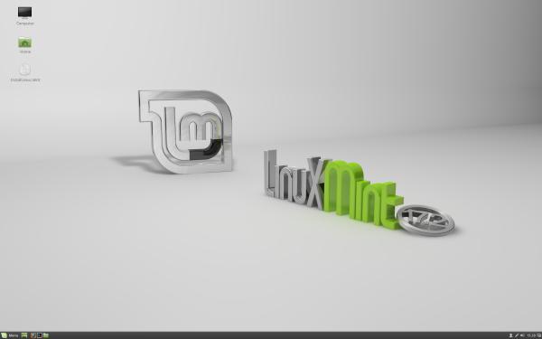 Il desktop di Cinnamon su Linux Mint 17.2