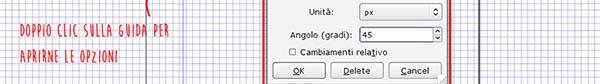 Angolazione tramite opzioni