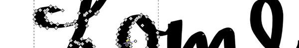 Nodi che compongono il tracciato