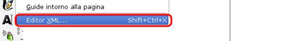 Strumento Editor XML