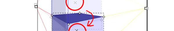 Alzare o abbassare il punto di visualizzazione