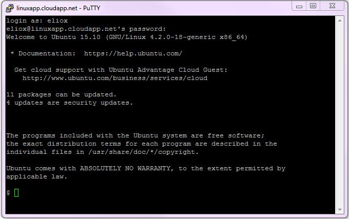 Autenticazione in Ubuntu via client SSH