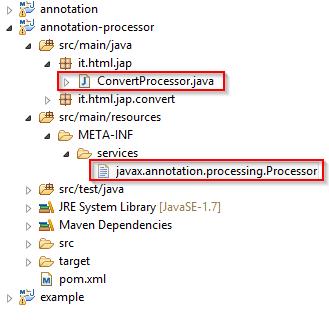 Registrazione del processore