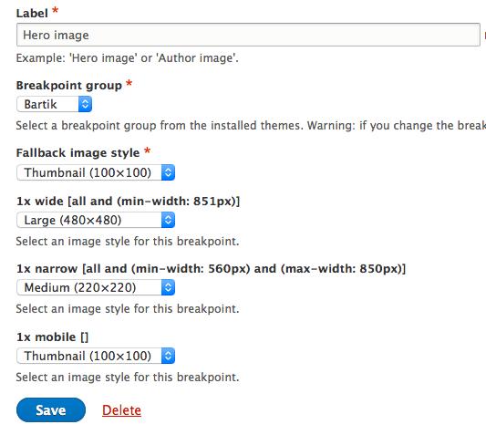 Ridimensionamento automatico delle immagini su Drupal 8