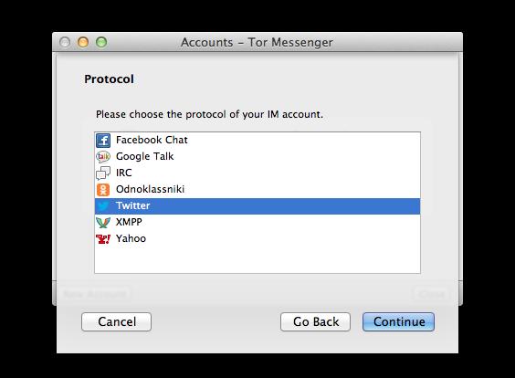 Tor Messenger, prova su strada | Sicurezza | HTML it