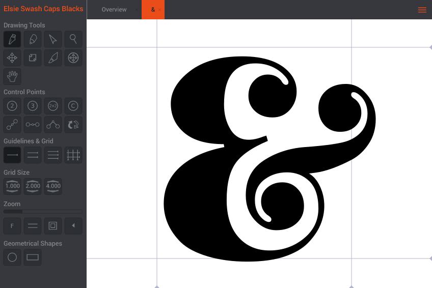 BirdFont: creare e modificare font su Linux