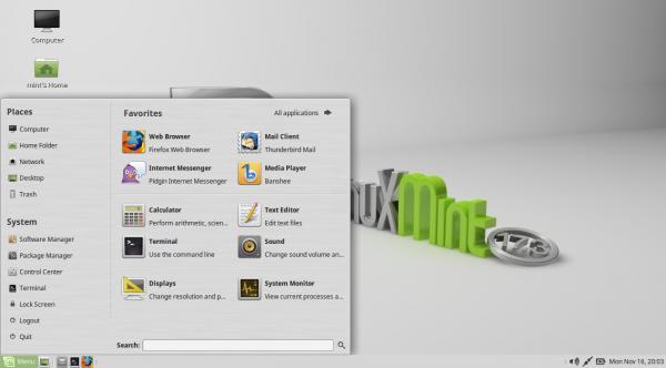 Il desktop di MATE 1.12 su Linux Mint 17.3