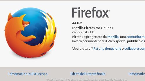 Firefox 49 con architettura multi-processo