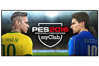 Pro Evolution Soccer 2016 myClub