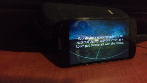 Ubuntu Phone: usare device come touchpad