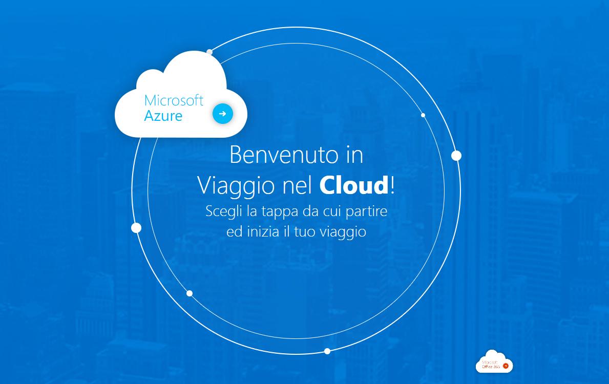 Viaggiare nel Cloud con Azure