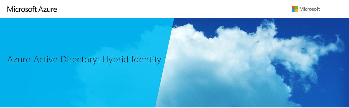 Hybrid Identity con Azure Active Directory. Il Webinar.