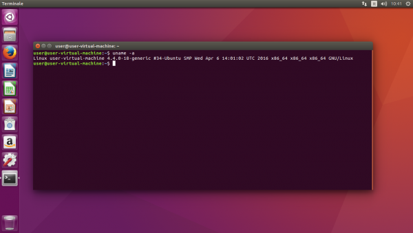 Versione del kernel Linux