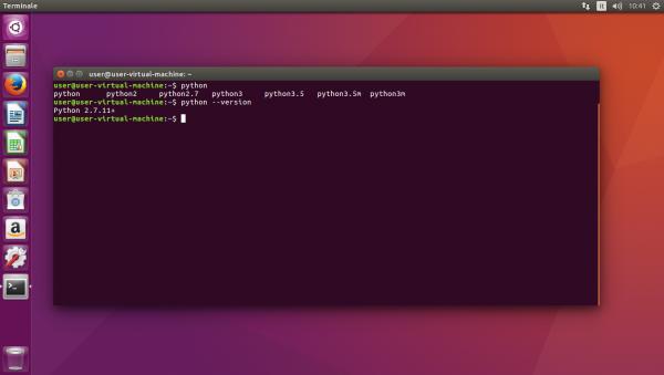 Versioni installate dell'interprete Python