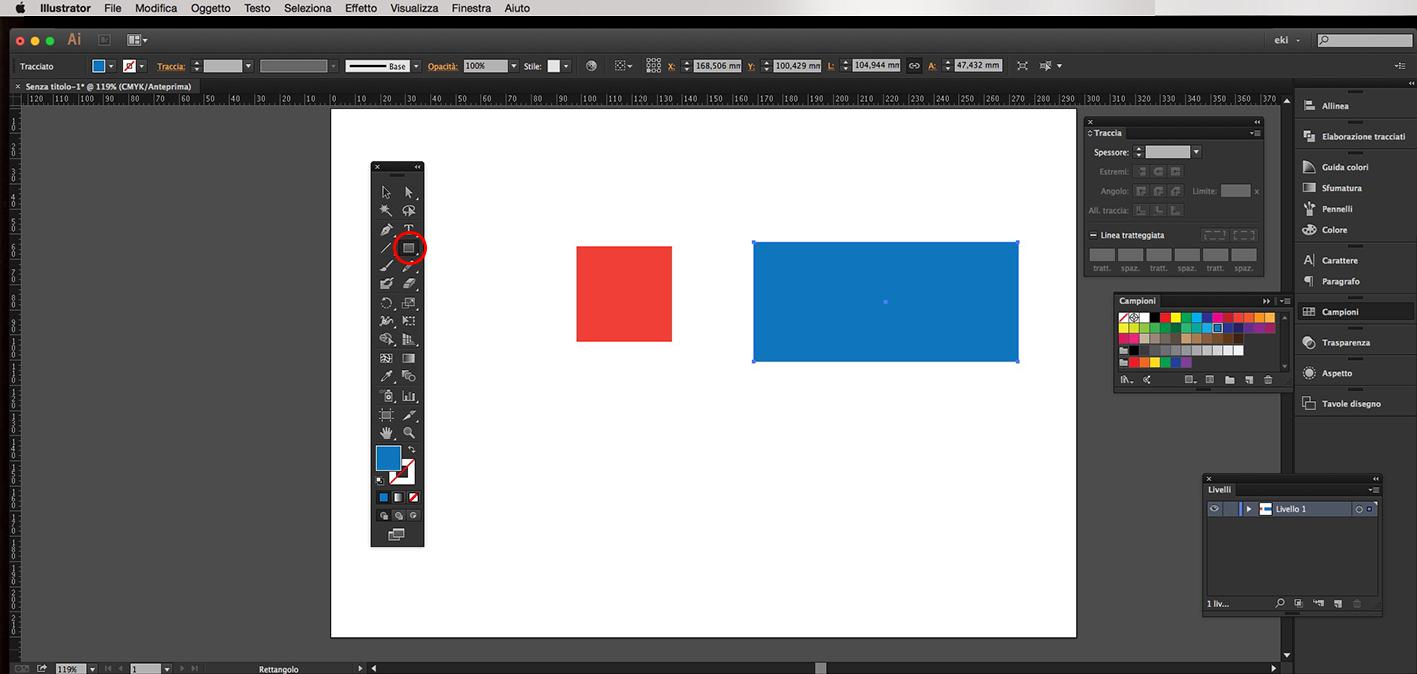 Illustrator rettangoli angoli arrotondati poligoni for 2 piedi quadrati per garage
