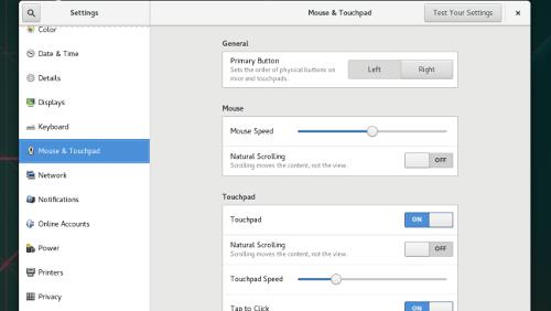 GNOME 3.22: in arrivo un nuovo Control Center