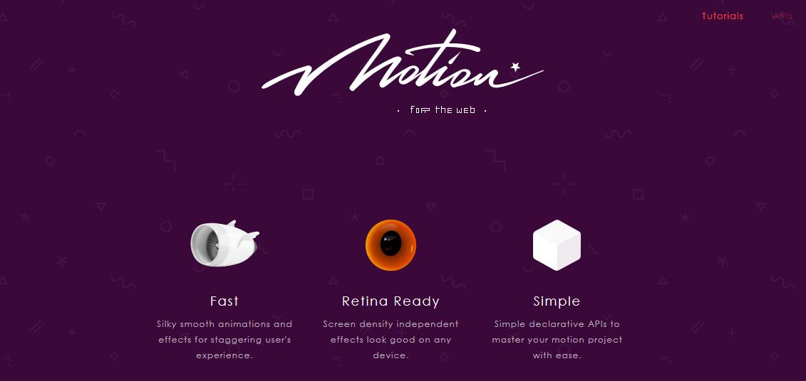 MoJS: motion graphic per il Web
