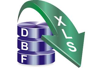 DBF to XLS Converter