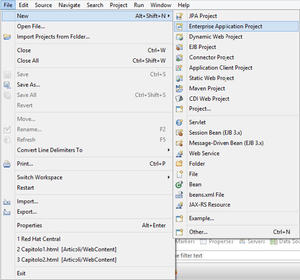 Progetto Java Enterprise
