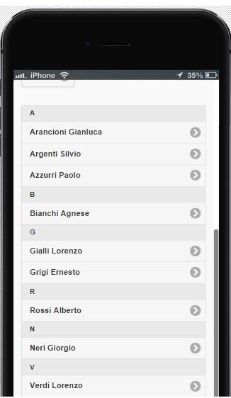 ListView con jQuery Mobile
