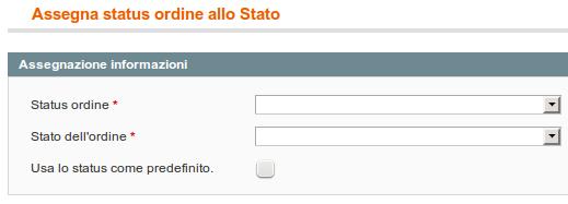 Assegnazione di uno status
