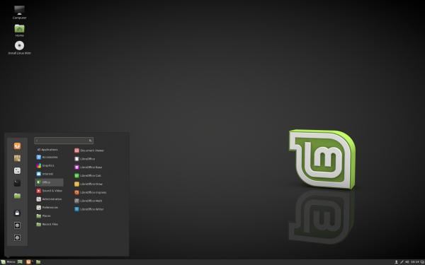 Il desktop di Cinnamon 3.0 su Linux Mint 18