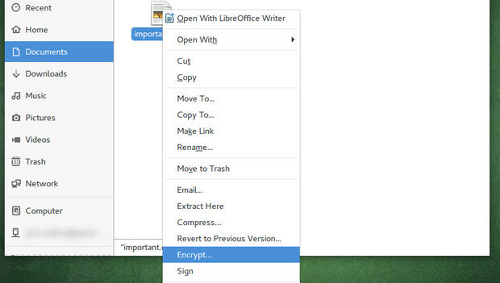 Criptare e decriptare file su Linux con gpg