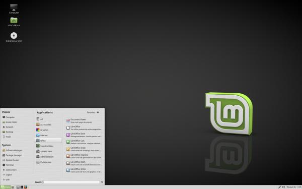 Il desktop di MATE 1.14 su Linux Mint 18