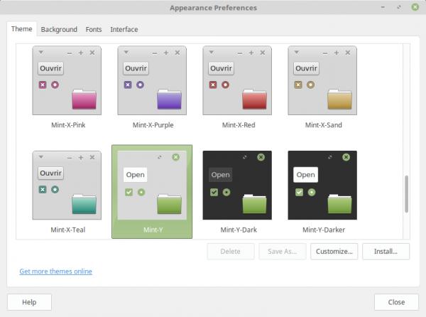 Il nuovo tema Mint-Y su Linux Mint 18