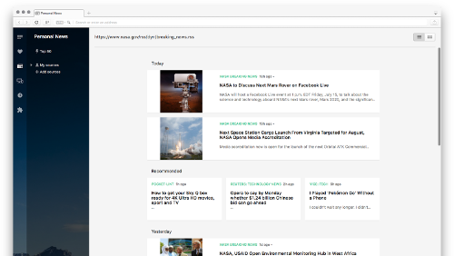 Opera: nuova build con lettore RSS e supporto a Chromecast