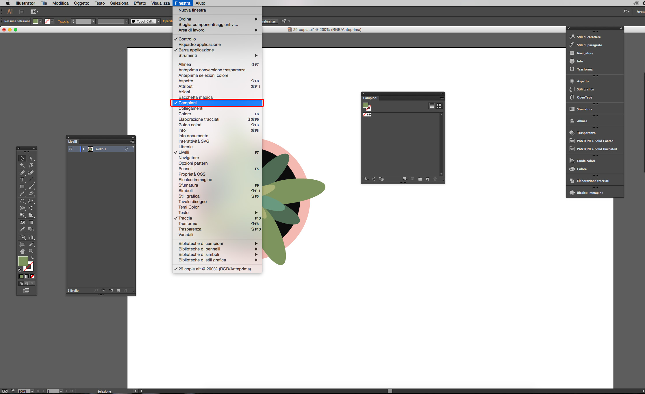 illustrator cc salvare campioni di colore grafica html it  doc 11 campioni gratuiti.php #1