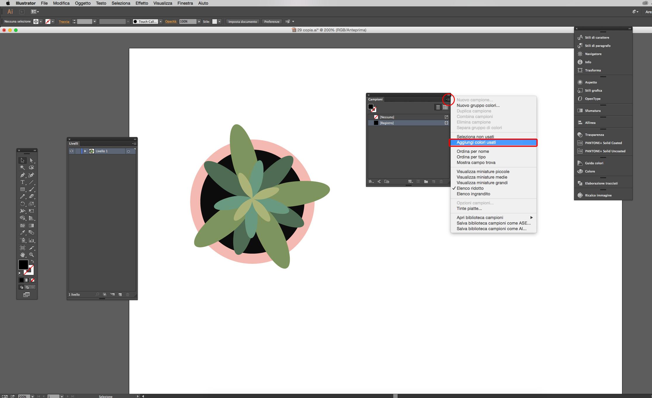 illustrator cc salvare campioni di colore grafica html it  doc 11 campioni gratuiti.php #4
