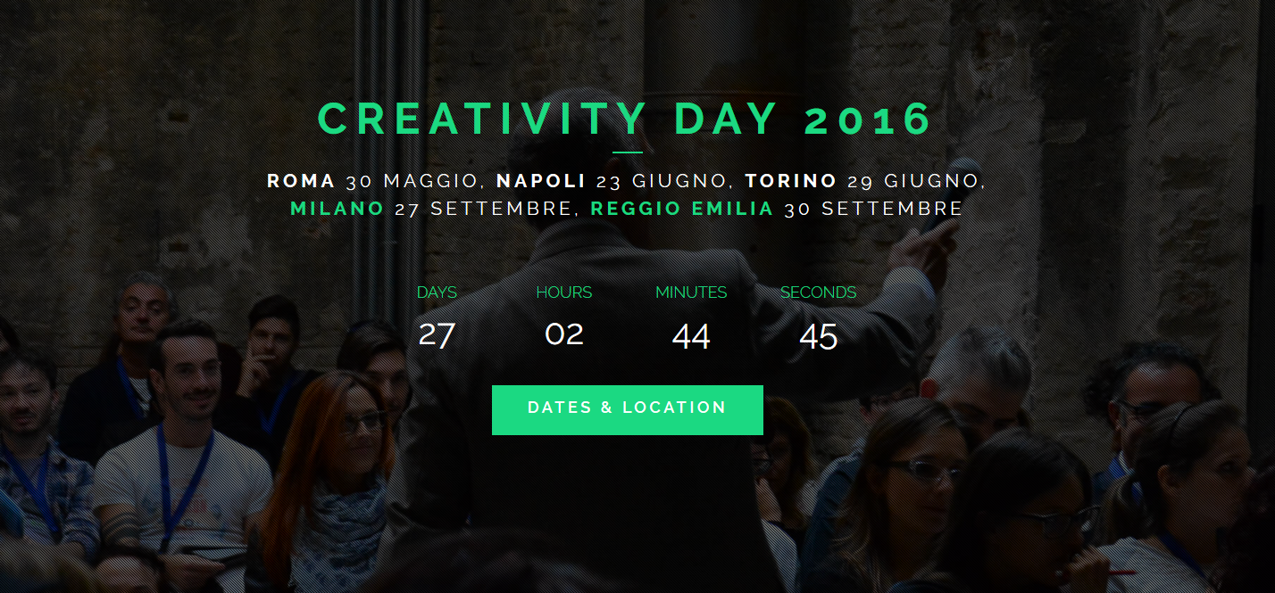 Creativity Day: i video e i prossimi appuntamenti
