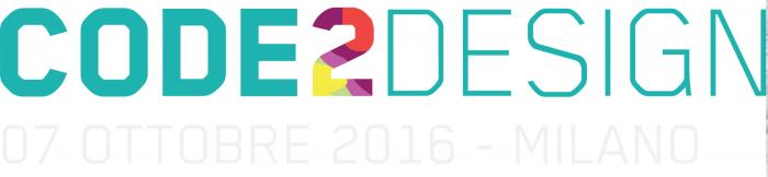 Code2Design il 7 ottobre a Milano