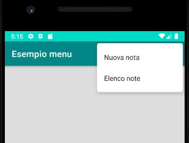 Menu Android