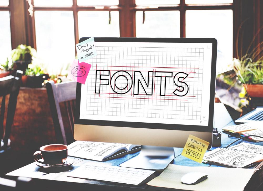 I più popolari font sans serif
