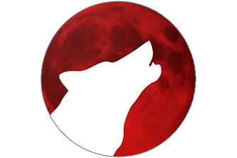Red Moon: Screen Filter