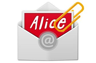 Alice Mail: come inviare allegati pesanti