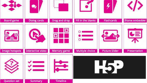 H5P: Plugin CMS per i contenuti interattivi in HTML5