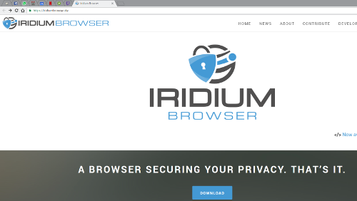 Iridiumbrowser: la privacy prima di tutto