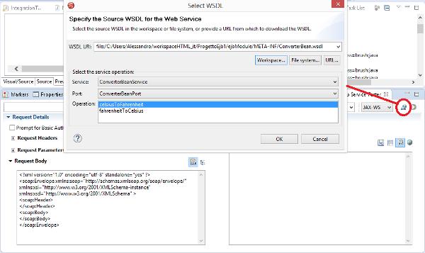 JBoss Developer Studio 9.1.0 Web Service Tester