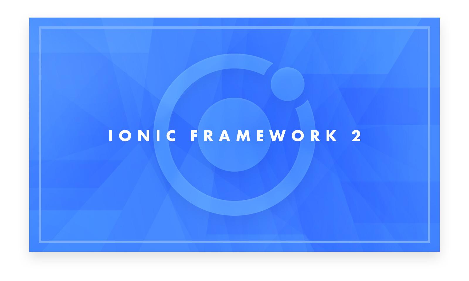 Ionic 2.0 con tre modalità per il theming