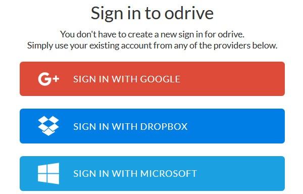 Autenticazione multipla su ODrive