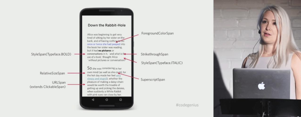 App Android, far funzionare layout e tipografia con Lisa Wrai