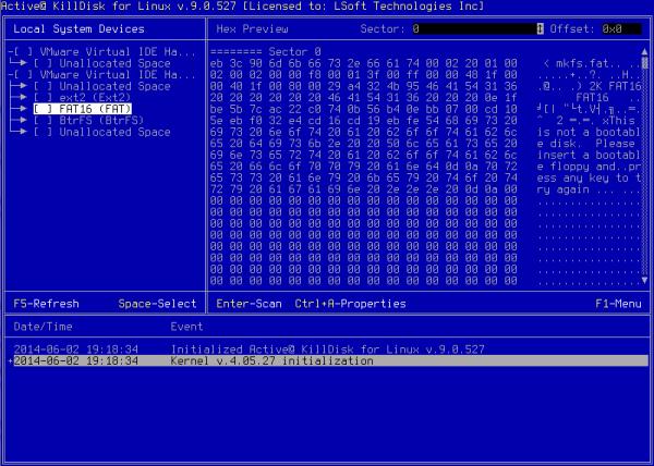 KillDisk per Linux