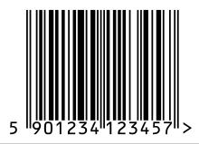 Codice a barre in formato EAN-13