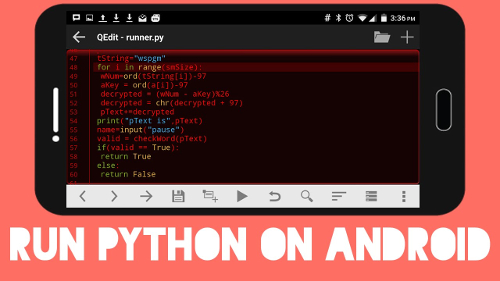 Python for Android: applicazioni per Android in Python
