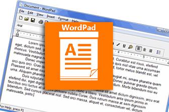 WordPad: formattare i testi, inserire simboli e convertire i file