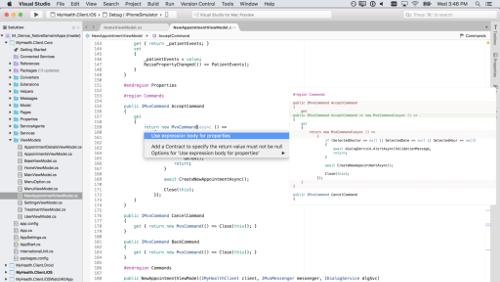 Visual Studio per Mac: tutte le novità