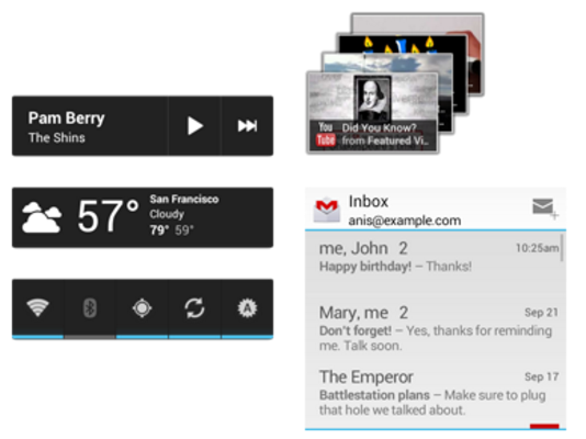 App Widgets in Android